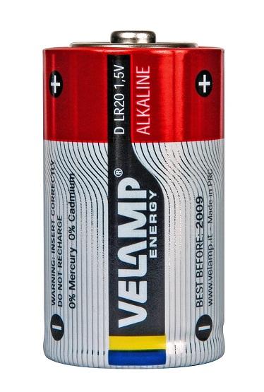 VELAMP 2x primární baterie, Alkalinové bal. 2ks