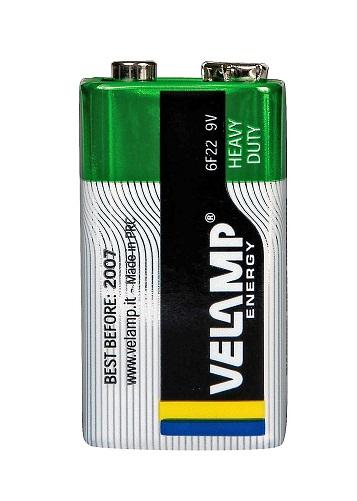 VELAMP 1x9V primární baterie, Heavy duty bal. 1ks